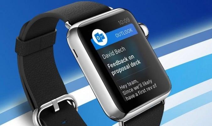 Outlook en Apple Watch, tu correo integrado en un smartwatch