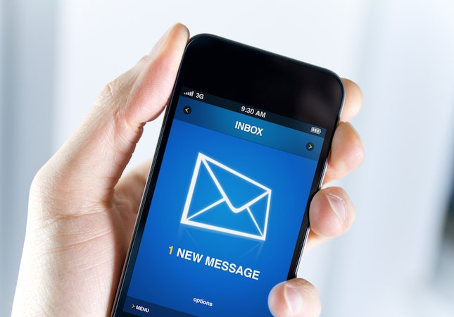 Más del 50% de los correos electrónicos se abren hoy desde un teléfono móvil