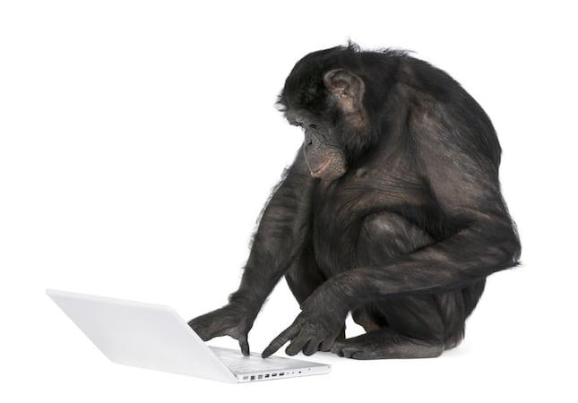 Las estadísticas email según el mono: de 100 envíos, 20 serán abiertos