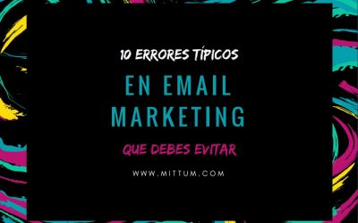 Ebook 10 errores típicos en email marketing que debes evitar
