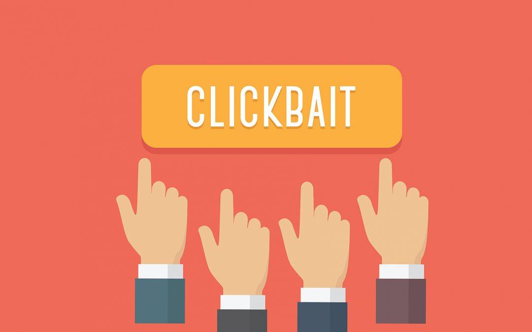 5 técnicas de clickbait que podrían ayudar en tus campañas de eMail Marketing